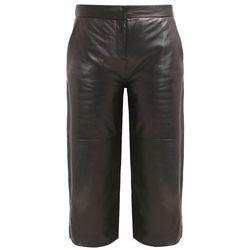muubaa RILEY Spodnie skórzane black