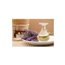 Foto naklejka samoprzylepna 100 x 100 cm - Olejek lawendowy aromaterapia