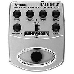 Behringer V-TONE BASS BDI21 efekt gitarowy