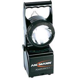 Lampa ręczna LED i halogenowaAnsmann Powerlight 5.1, czarna.