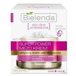 Bielenda Skin Clinic Professional Super Power Mezo Krem (W) aktywny krem odmładzający do twarzy 50ml