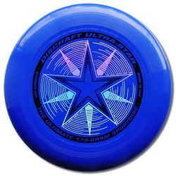 Dysk Discraft ULTRA-STAR 175g. Niebieski Ultimate Frisbee