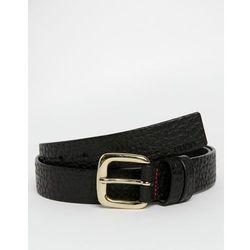 Hugo Boss Geoll Grain Leather Belt - Black