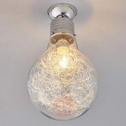 Lampa Sufitowa Rubi O Kształcie Lampy żarowej