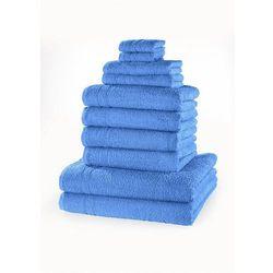 Komplet ręczników (10 części) bonprix morski