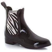 Buty przeciwdeszczowe chelsea, z kauczuku