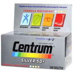 Centrum multiefekt od a do z silver 50+ x 100 tabletek
