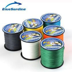 300M Multifilament PE Braided Fishing Line Super Strong 4 Strands Braid Fishing Wires 12LB - 90LB
