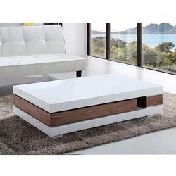 Nowoczesny stolik kawowy - ława - 120 x 70 - szuflada LAGOS