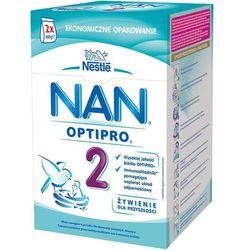 NESTLE NAN OPTIPRO 2 800g (2x400g) Mleko następne z B.Lactis dla dziec