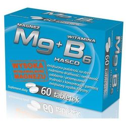Mg magnez + witamina B6 60 tabl.