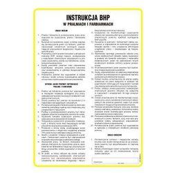 Instrukcja BHP w pralniach i farbiarniach