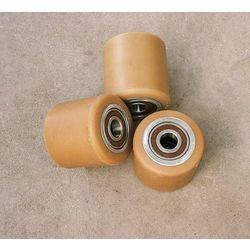 ROLKA metalowo-poliuretanowa do wózka paletowego 80 x 80 mm
