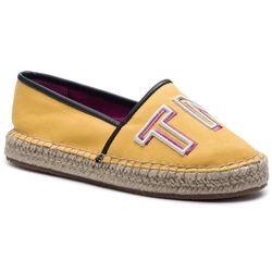 4c0693b06c94b Espadryle TOMMY HILFIGER - Colorful Tommy Flat Espadrille FW0FW04166  Spectra Yellow 730