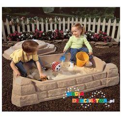 Słoneczna piaskownica dla dzieci STEP2 + GRATIS