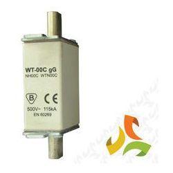 Wkładka topikowa zwłoczna gg WT-00C 25A, bezpiecznik przemysłowy ETI