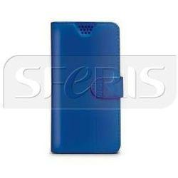 CELLY WALLYUNIXLBL Uniwersalne Etui niebieskie do smartfonów 4,5'' - 5''