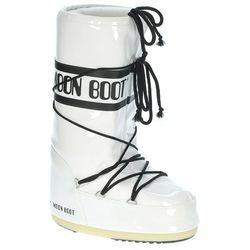 buty Tecnica Moon Boot Vinil - White/Black