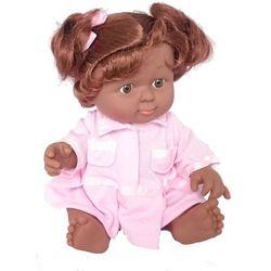 Lalka murzynka różowe ubranko 18 cm