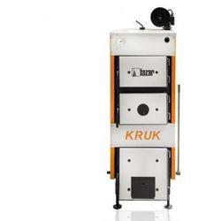 Stalowy kocioł górnego spalania KRUK S z ręcznym załadunkiem na drewno i węgiel 25kW