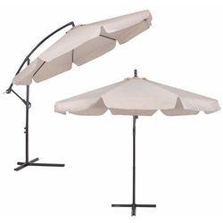 Parasol Ogrodowy 350cm Beżowy Springos