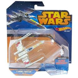 Hot Wheels Star Wars Statek kosmiczny X-Wing Red 5