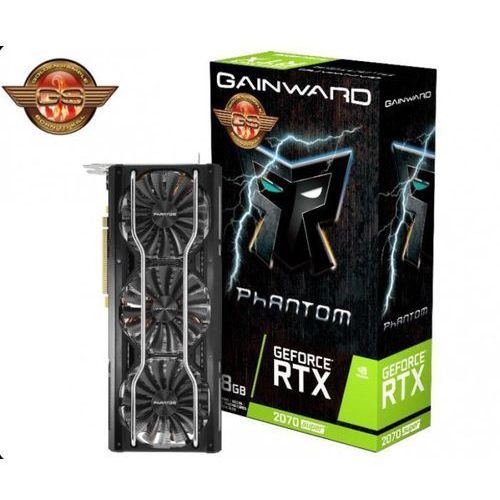 Karta VGA Gainward GeForce RTX 2070 Super Phantom GS 8GB GDDR6 256bit HDMI+3xDP PCIe3.0