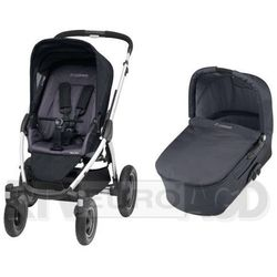 Maxi Cosi Mura Plus 4 + Gondola Total Black - produkt w magazynie - szybka wysyłka!