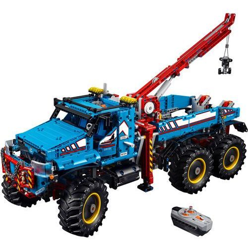 42070 Terenowy Holownik 6x6 6x6 All Terrain Tow Truck Klocki Lego