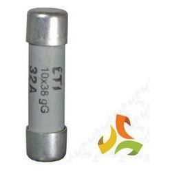 Bezpiecznik, wkładka topikowa cylindryczna CH10x38 gG 1A 002620000 ETI