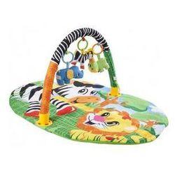 Mata edukacyjna dla dzieci Sun Baby Zebra Niebieska/Żółta/Zielona/Pomarańczowa