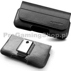Kabura Safir Sony Xperia Miro-ST23i Czarny