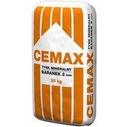 Tynk mineralny Cemax, 25kg