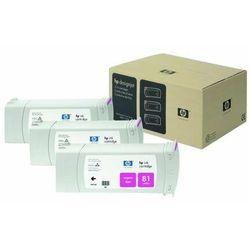 HP oryginalny ink C5068A, No.81, magenta, 3x680ml, 3szt, HP DesignJet 5000, PS, UV, 5500, PS