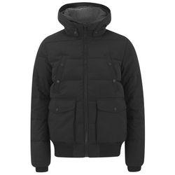Tommy Hilfiger Men's Hooded Down Filled Jacket - Black - XL