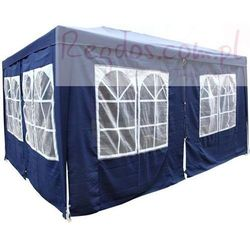 Pawilon ogrodowy - namiot handlowy 3x4m - niebieski