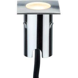 Lampa LED zewnętrzna do zabudowy Paulmann 93786, 4x0.7 W, LED wbudowany na stałe, 112 lm, 2700 K, IP67, (SxWxG) 4.3 x 8.3 x 4.3 cm