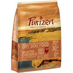11,5 + 2 kg gratis! Purizon, 13,5 kg - Kurczak z rybą