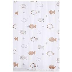FISHES poliestrowa zasłona prysznicowa 180x200 cm 47819