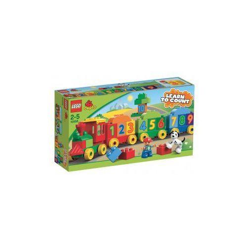 Lego DUPLO Pociąg z cyferkami 10558