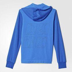 Bluza adidas YB Locker Room B Full Zipp Hoodie Junior AK2737