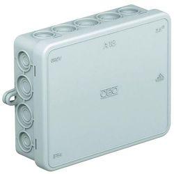 Puszka instalacyjna OBO Bettermann 2000410, IP55, jasnoszary (RAL 7035)