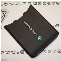Pokrywa baterii Sony Ericsson W580i czarna