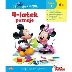 Disney Ucz się z nami. Klub Przyjaciół Myszki Miki. 4-latek poznaje UDH2 (opr. miękka)