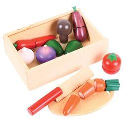 Pudełko drewniane do krojenia warzyw