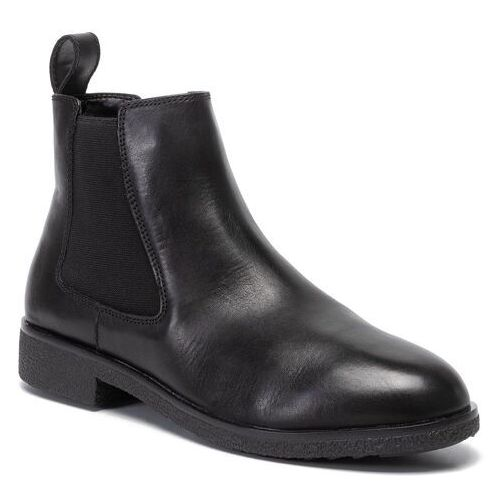 Sztyblety CLARKS - Griffin Plaza 261431084 Black Leather