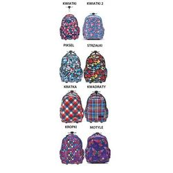 Plecak na kółkach tornister ST.REET 8 wzorów + GR