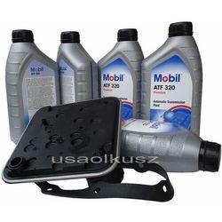 Filtr oraz olej skrzyni 4SPD Mobil ATF320 Dodge Avenger