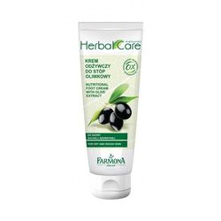 Farmona Herbal Care Krem do stóp odżywczy - zielona oliwka 100ml