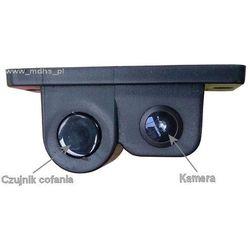 Kamera cofania + czujnik cofania, 2 w 1, kamera samochodowa, czujnik parkowania, CP21/C712